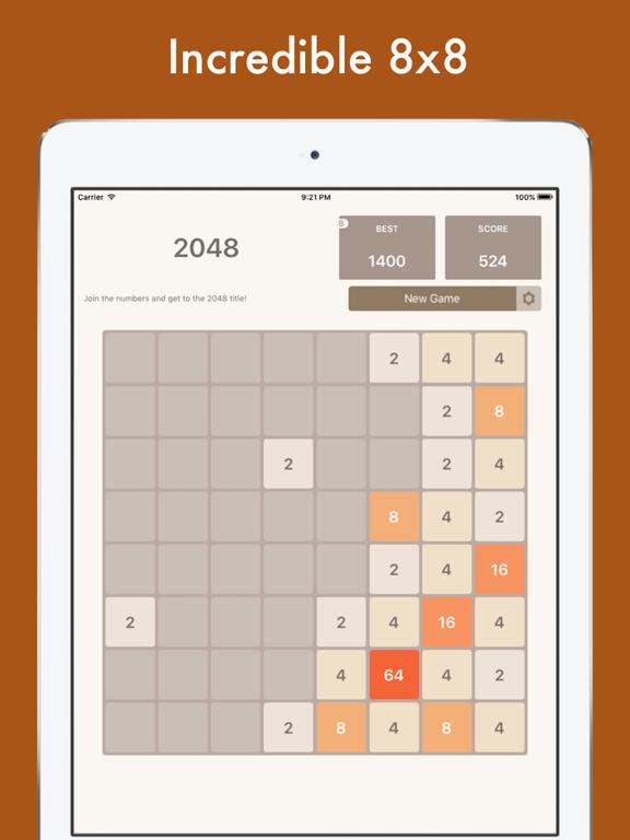2048 Multi - 8x8, 6x6, 4x4 tiles in one app!   App Price Drops
