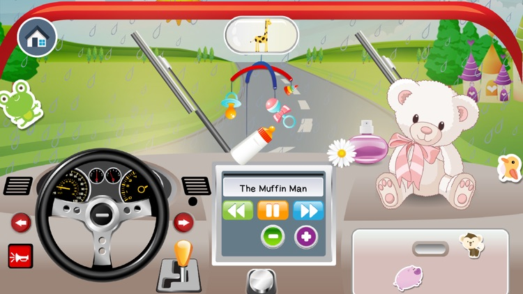 Baby Car Driving App 4 Toddler screenshot-1
