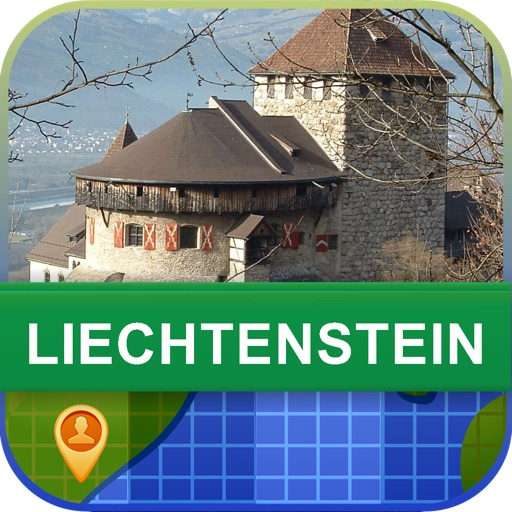 Offline Liechtenstein Map - World Offline Maps