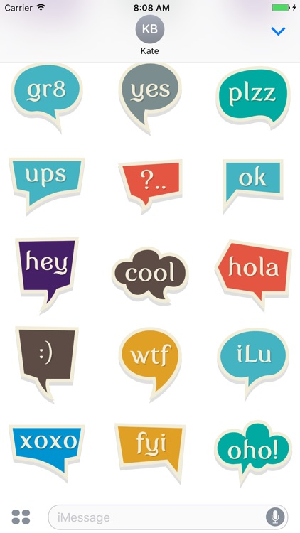 Chat Stickers