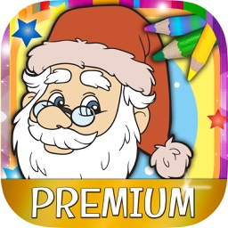 Coloring book Christmas paint magic - Premium
