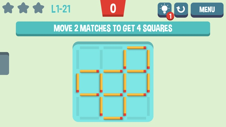 Move the Match - Matchstick Puzzles screenshot-3