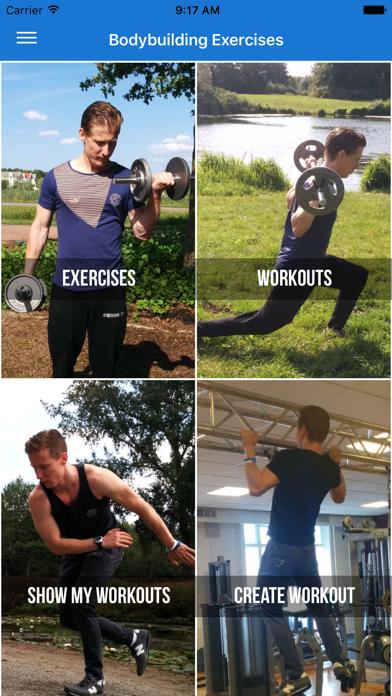 Bodybuilding Exercises and Workoutsのおすすめ画像1