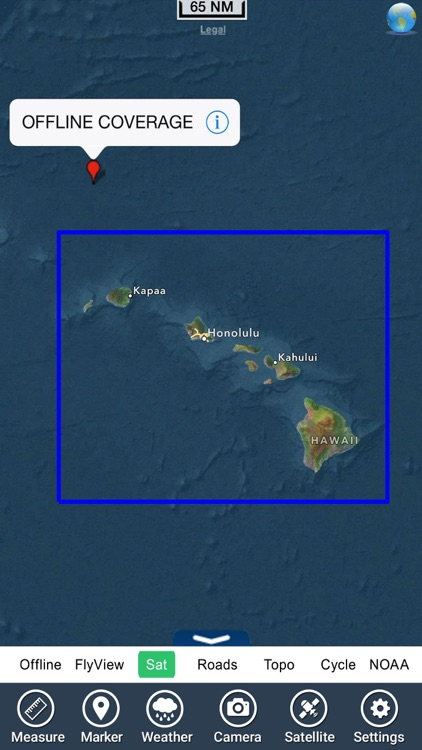 Marine : Hawaii HD - GPS Map Navigator screenshot-4