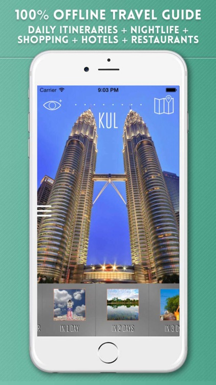 Kuala Lumpur Travel City Guide and Offline Map