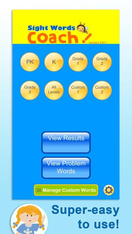 Sight Words Coach screenshot-4