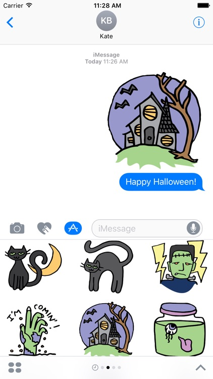 Halloween stickers for all
