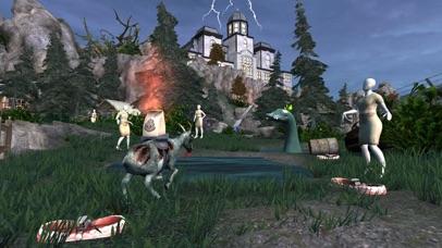 Screenshot from Goat Simulator GoatZ