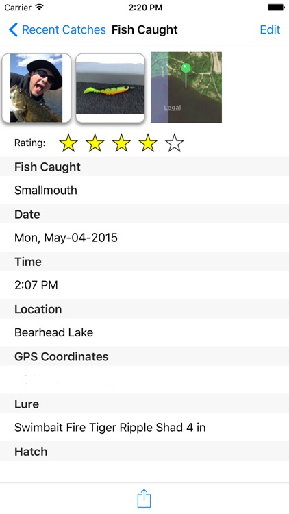 FishTales - A Fishing Log Book and Journal