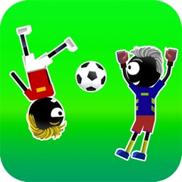 Stickman Soccer Physics - Fun 2 Player Games Free