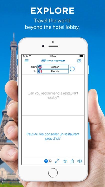 Translate Voice - Language Translator & Dictionary screenshot-0