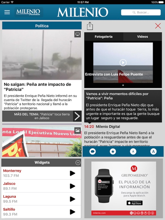 Milenio Impreso screenshot-1