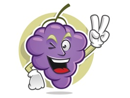 You cannot eat a cluster of grapes at once, but it is very easy if you eat them one by one