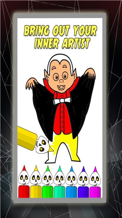 Trick Or Treat Drawing Book - Halloween Drawings screenshot-3