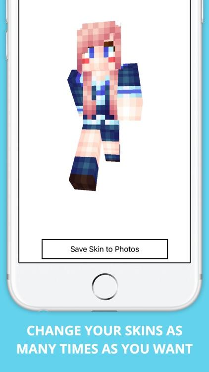 Custom Skins for Minecraft PE Pro