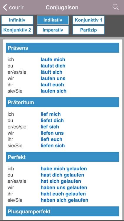Dictionnaire Français/Allemand screenshot-4
