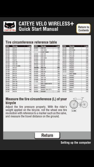 Instructions For Cateye Bike Computers Expert Event