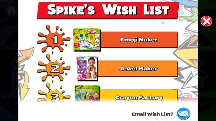 Crayola Kids' Holiday Wish List screenshot-3