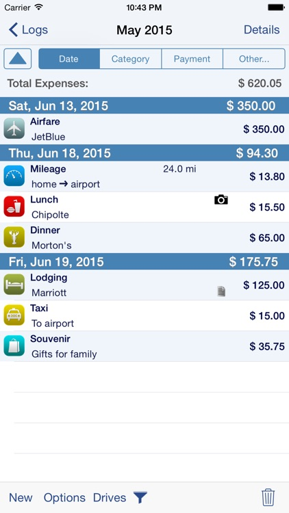 BizXpenseTracker-Expense, Mileage & Time Tracking