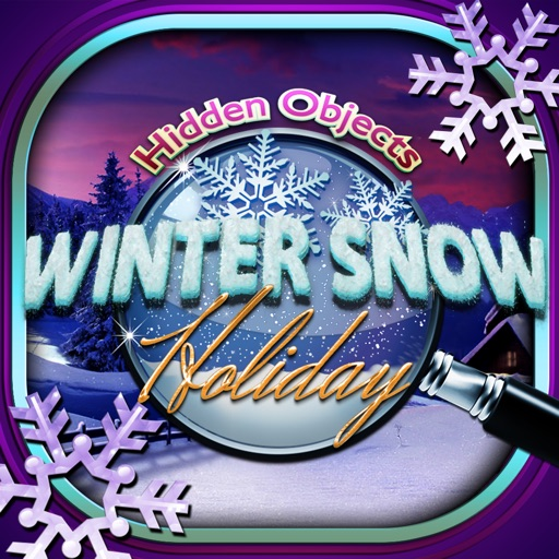 Winter Snow Christmas Holiday Hidden Object Puzzle