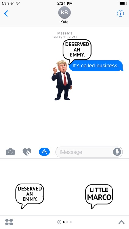 Trump Stickers Pack