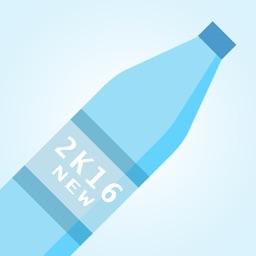 Super Water Bottle Flip Jump 2K16 challange