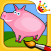 The Animals Farm - Puzzles Games & Colors for Kids