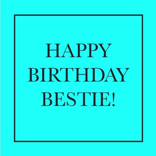 happy birthday bestie by kate steinmeyer