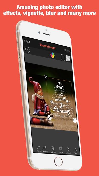 XmasPicFrames – Christmas & New Year Photo Frames screenshot four