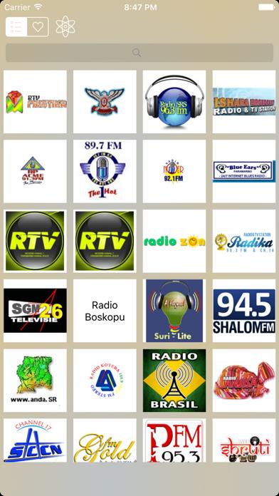 Radio Suriname (Dutch / Paramaribo) screenshot one