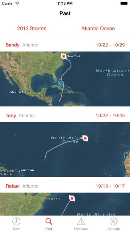 My Hurricane Tracker Pro - Tornadoes & Cyclones! screenshot-3