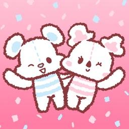 Cotton Bear & Candy Koala Sticker
