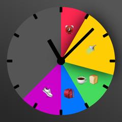 Hic Et Nunc Timer - personnalisable,simple,visuel