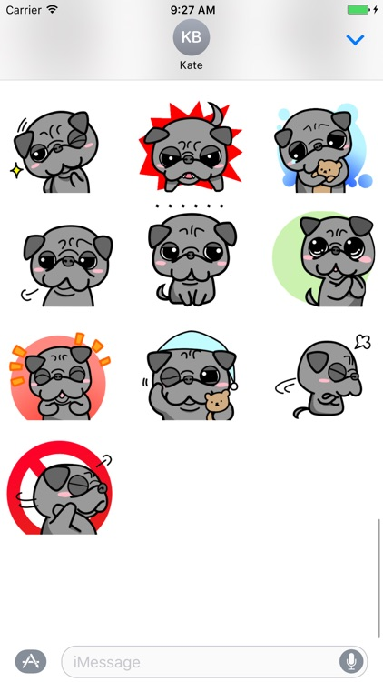 Cute Dog - Fc Sticker screenshot-4