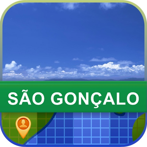 Sao Goncalo, Brazil Map - World Offline Maps