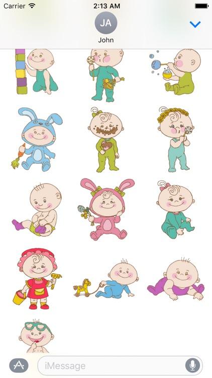 Baby Cute Sticker Pack 02