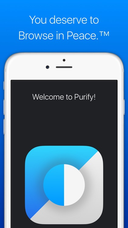 Purify: Block Ads and Tracking. Browse in Peace. screenshot-4