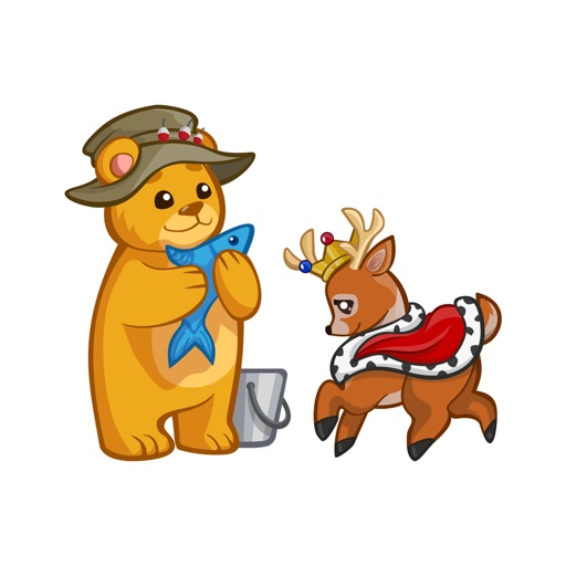 Zoo Cuties: Cute Animal Stickers for iMessage