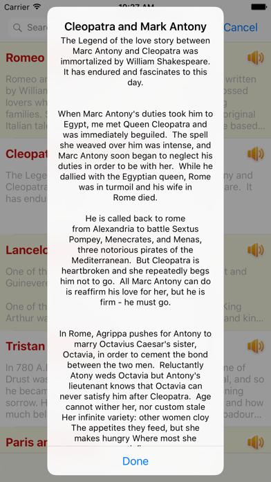 Audio Love Story Classic Romantic OfflineScreenshot of 5