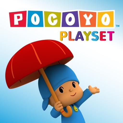 Pocoyo Playset - Weather & Seasons