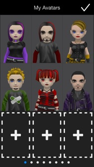 My Talking Goth iphone images