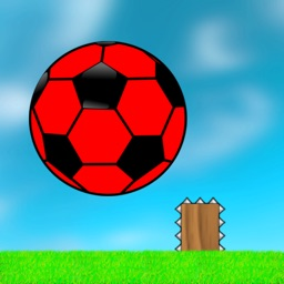Flappy Red Ball - Bouncing Between Spikes