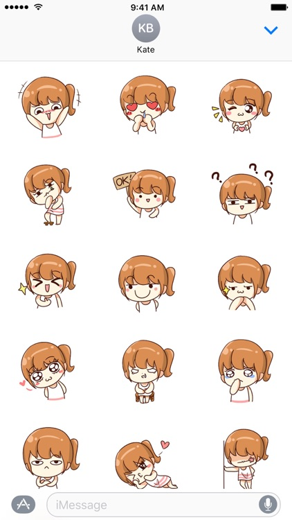 Dou Xiaomi's Daily Life − NHH Stickers