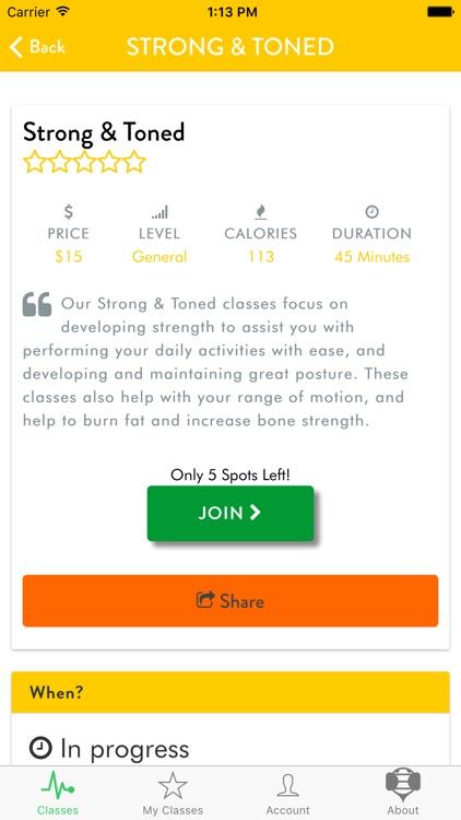 Buzvil - Group Fitness Classes