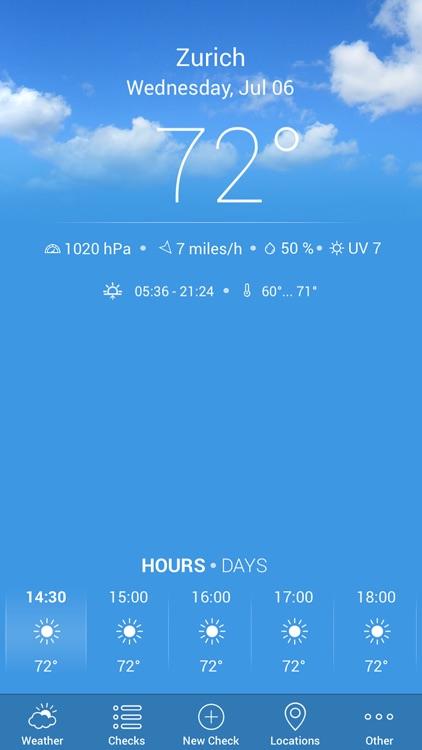 Weather Reminder — Plan. Check. Do! Alerts & Tips screenshot-0