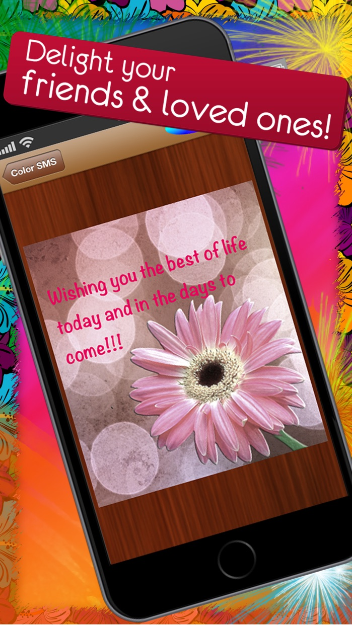 Color SMS - Send Text Messages, Fun for iMessage Screenshot