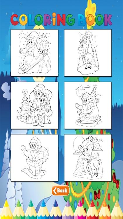 Christmas Coloring Book - for Kids screenshot-4