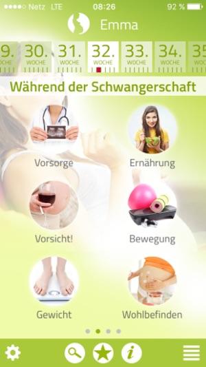 Schwanger & Essen Screenshot