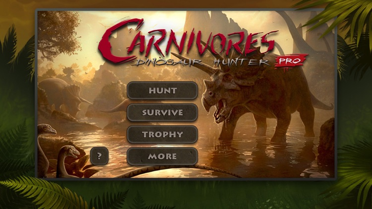 Carnivores: Dinosaur Hunter Pro screenshot-0