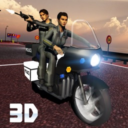 Crime City Stunt Police Bike